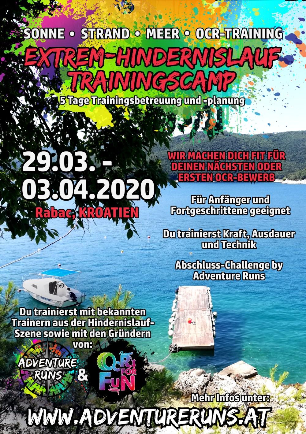 Trainings Camp Hindernislauf